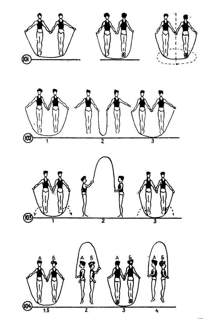 20 упражнений со скакалкой