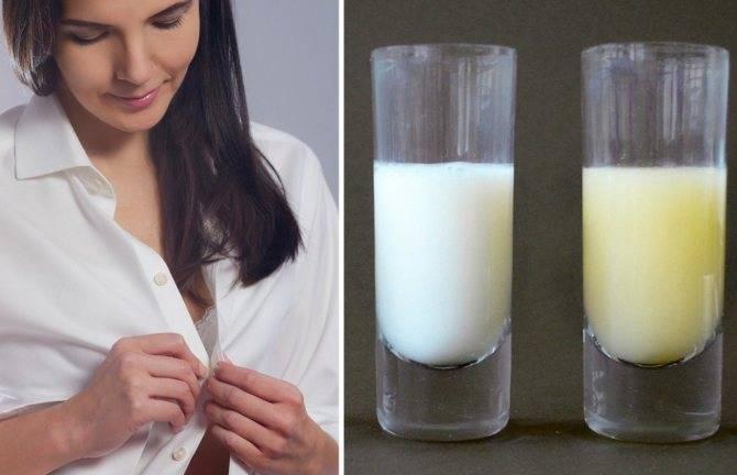 Цвета и оттенки материнского молока во время грудного вскармливания - топотушки