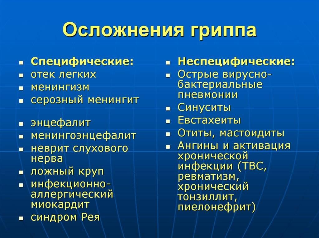 Грипп: формы, симптомы, лечение и профилактика вируса гриппа