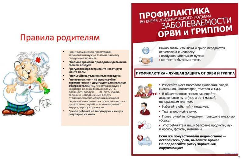 Профилактика орви в осенний период. значение вакцинации против гриппа | управление роспотребнадзора по калининградской области
