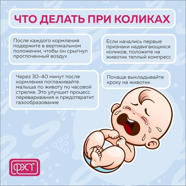Для чего и как делать массаж новорожденному при коликах
