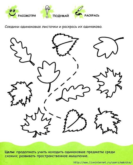 Развивающие занятия детей 4 - 5 лет: комплексный подход