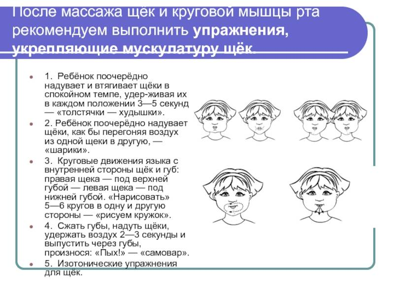 Логопедический массаж зондами: методика проведения