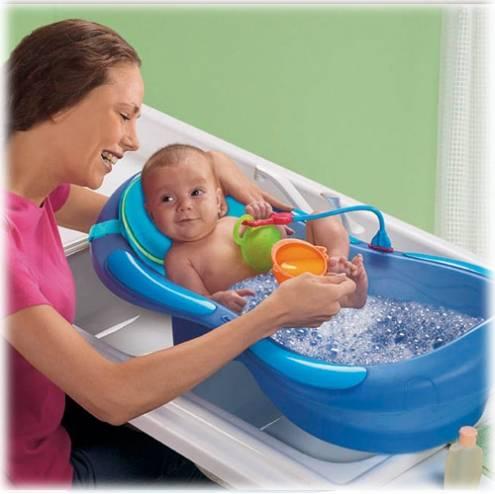 Купание новорожденного в большой ванне: правила купания, необходимые приспособления, инструкция по приготовлению ванны и рекомендации педиатров