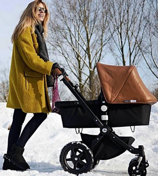 Как выбрать коляску для новорожденного зимой?