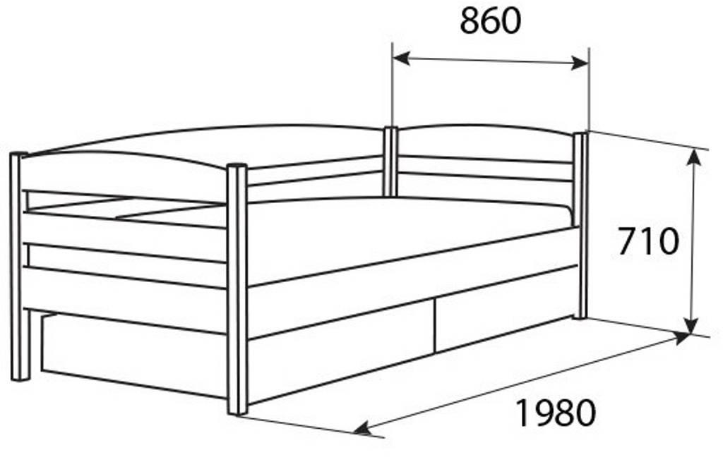 Как выбрать правильные размеры детской кровати?