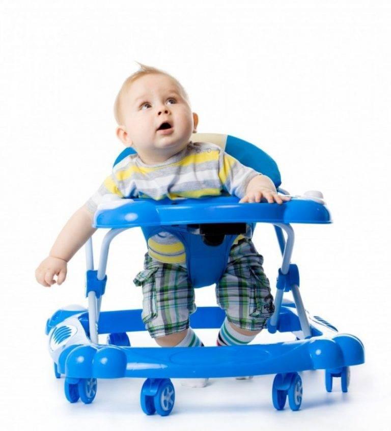 С какого возраста можно сажать ребенка в ходунки? советы родителям