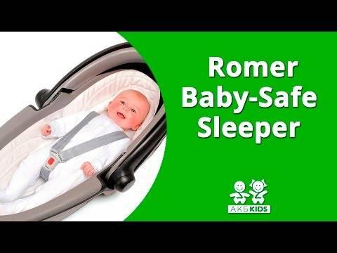 Обзор автомобильного кресла römer baby-safe sleeper. автокресло britax römer baby-safe plus