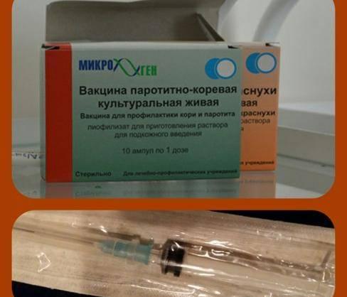 Вакцина против краснухи
