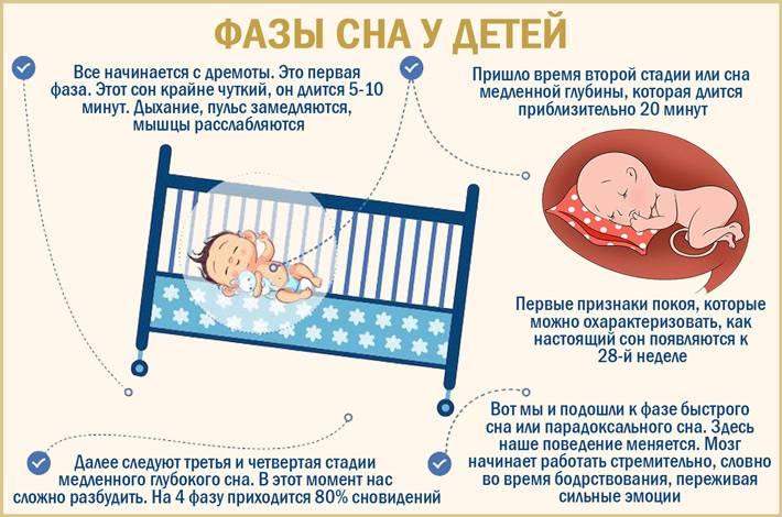Новорождённый или грудничок много спит: стоит ли беспокоиться?