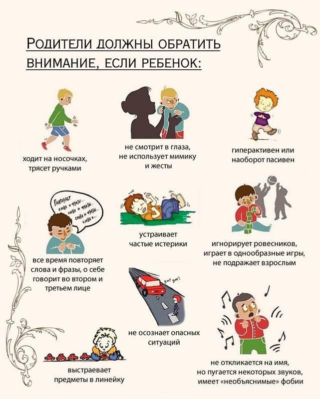 Признаки аутизма: болезнь или особенности развития