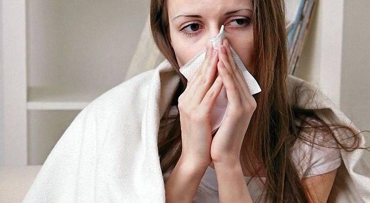 Насморк и заложенность носа у ребёнка