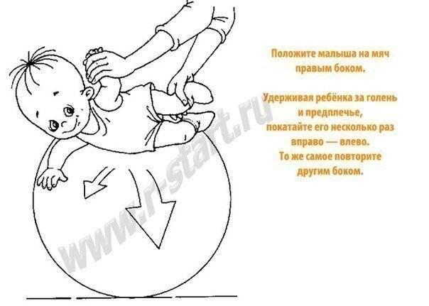 Занятия на мяче для ребенка 4 лет. как проводить занятия на фитболе для новорождённых в домашних условиях? руководство для родителей. упражнения для крохи