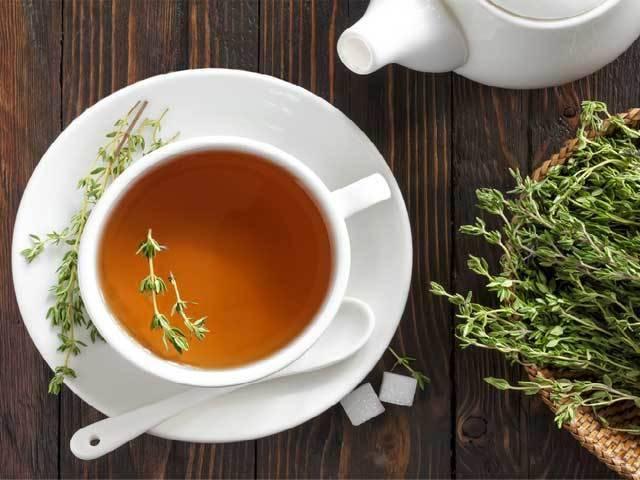 Чай с чабрецом при грудном вскармливании