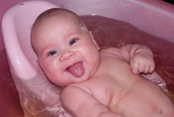 Как развести марганцовку для купания новорожденного ребенка