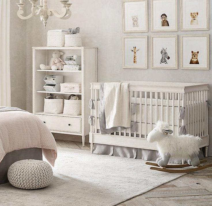 Интерьер детской комнаты для новорожденного • дневник дизайнера