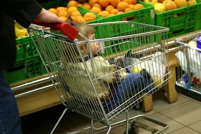Почему нельзя возить детей в продуктовых тележках