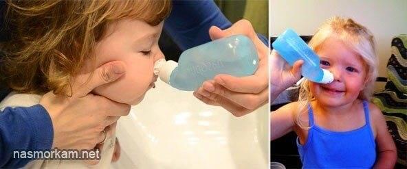 Как приготовить раствор для промывания носа