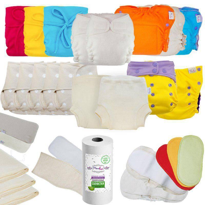 Многоразовые подгузники и трусики. как использовать многоразовые подгузники
