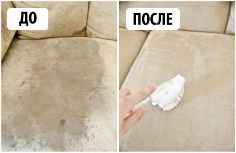 Как эффективно избавится от запаха мочи на диване?