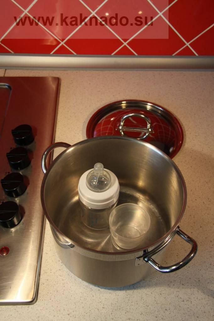 Как правильно стерилизовать бутылочки, пустышки и соски для новорожденных в домашних условиях