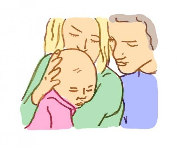 Когда можно показывать ребенка после рождения
