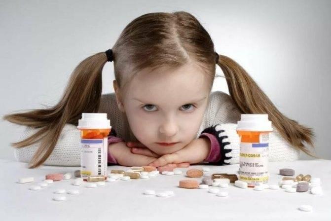 ➤ ребенок не пьет лекарства