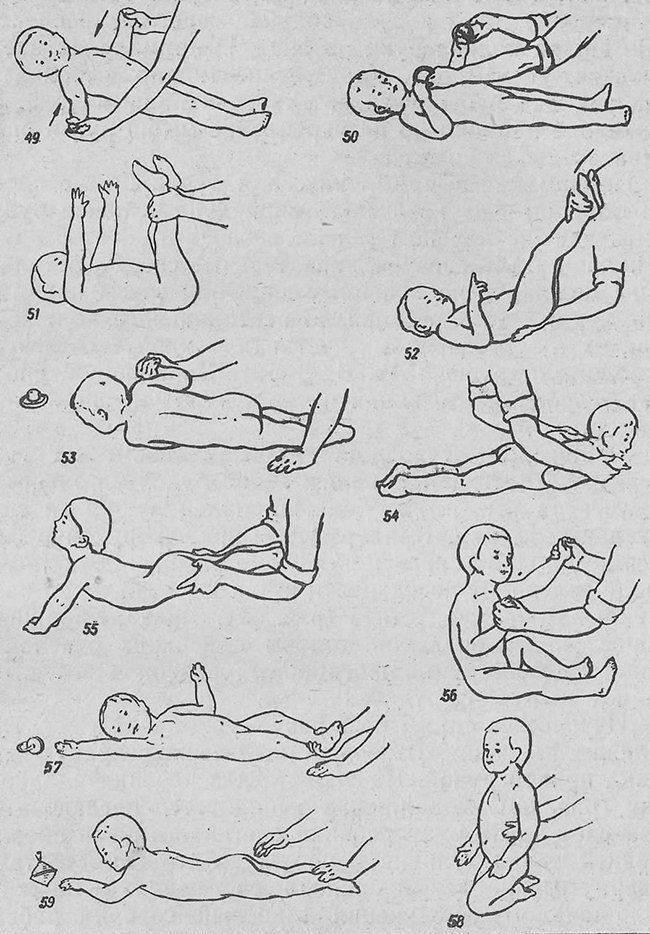 Как научить ребенка держать голову самостоятельно