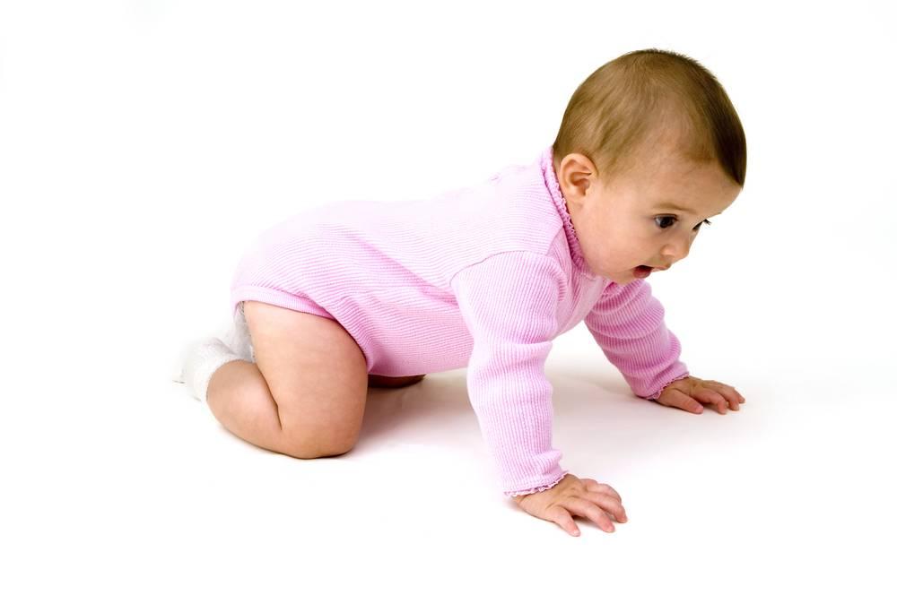 Если ребенок в 9 месяцев не ползает