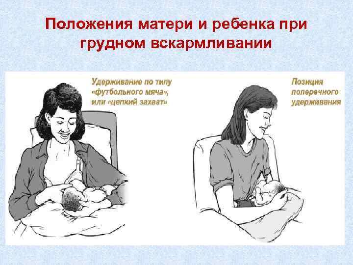 Позы для грудного вскармливания: как приложить ребенка к груди