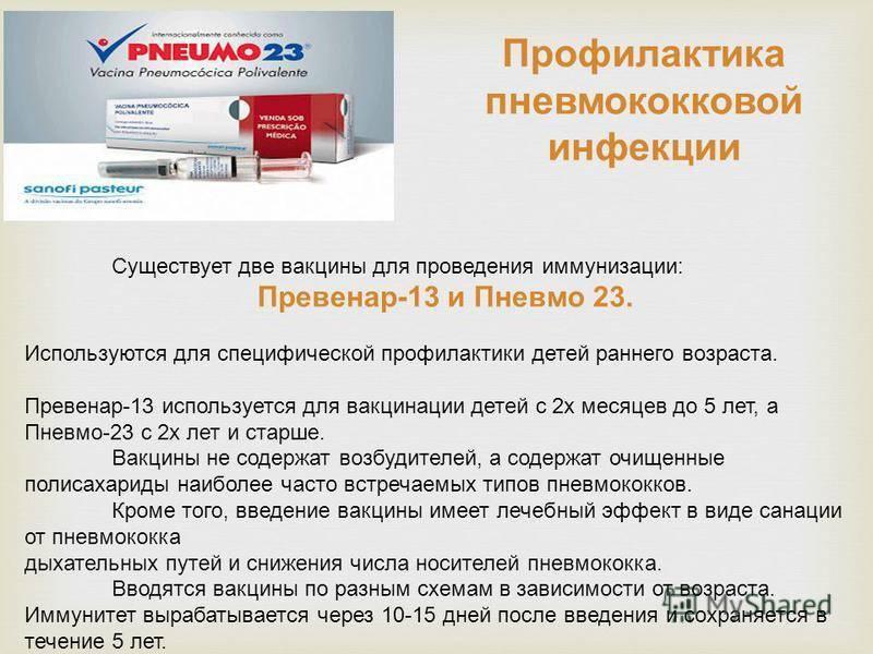 Превенар® (вакцина пневмококковая полисахаридная конъюгированная адсорбированная)