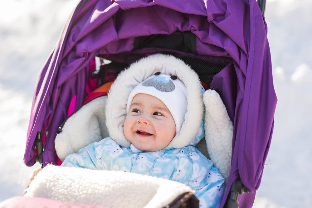 Как определить, что малыш замерз на прогулке или дома