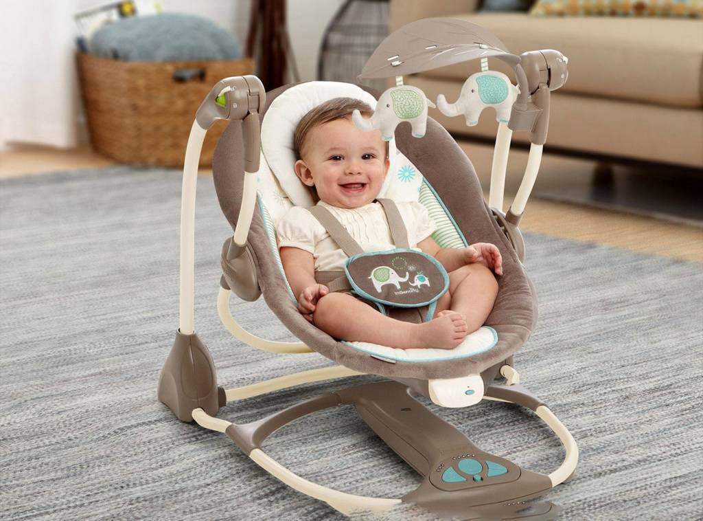 Выбираем лучшие электронные качели для новорожденных