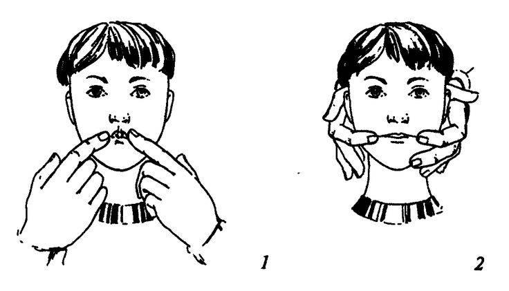 Логопедический массаж: курс массажа при различных дефектах речи