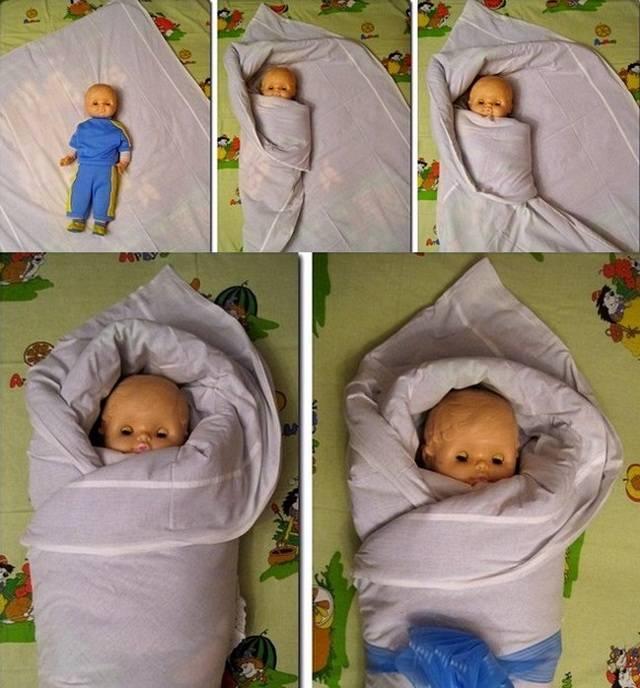 ➤ как пеленать новорожденного