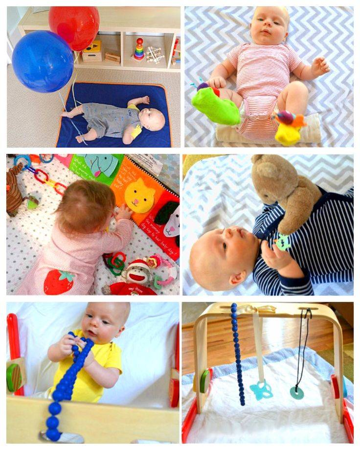Максимально полезный досуг: примеры развивающих игр для детей 6 месяцев