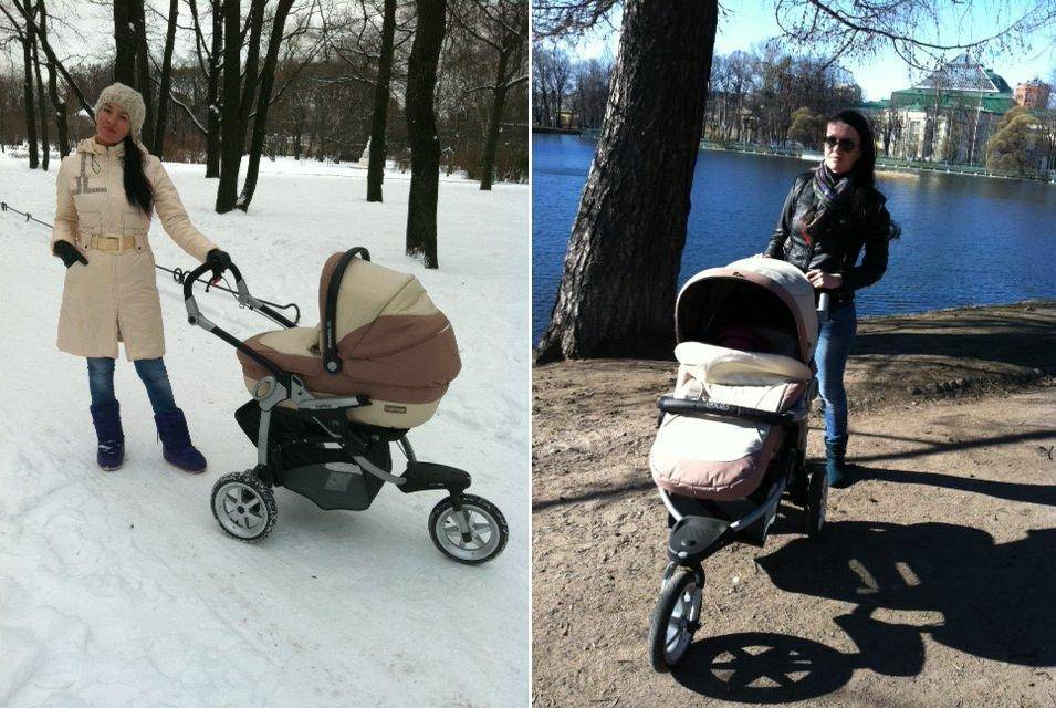 Как правильно выбрать коляску для новорожденного зимой