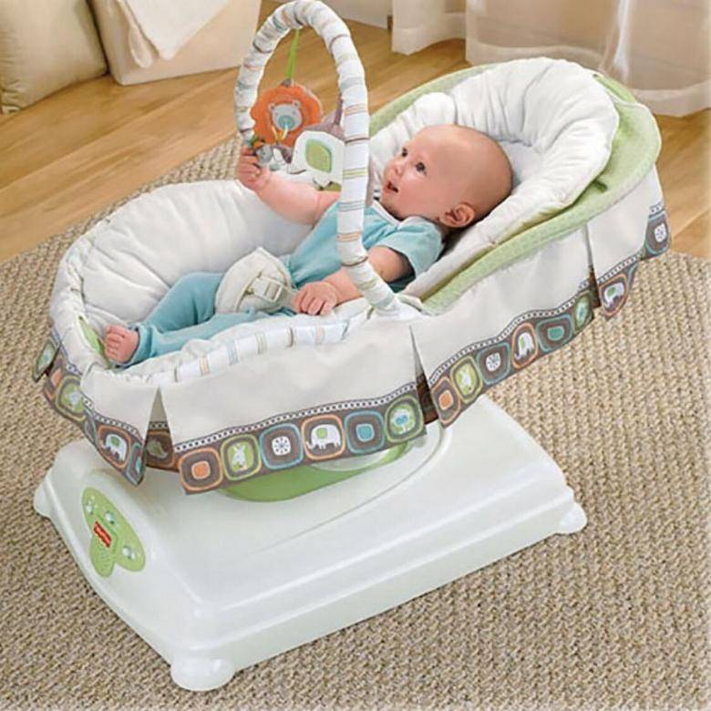 Детские люльки-качалки для новорожденного ребенка: электронные колыбели для грудничков
