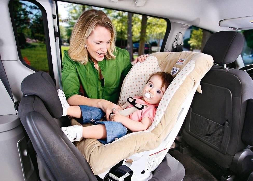 Как перевозить новорождённого в машине — обновлено 03.19