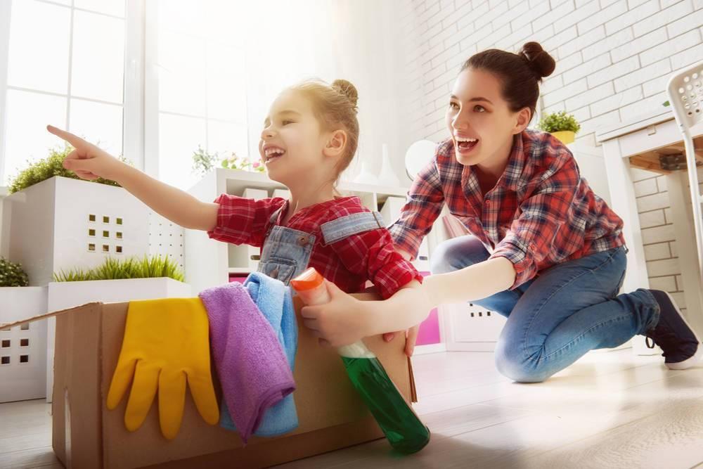 Приучаем к порядку детей дошкольного и младшего школьного возраста