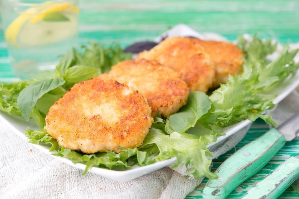 Рыбные котлеты для детей — пошаговый рецепт с фото