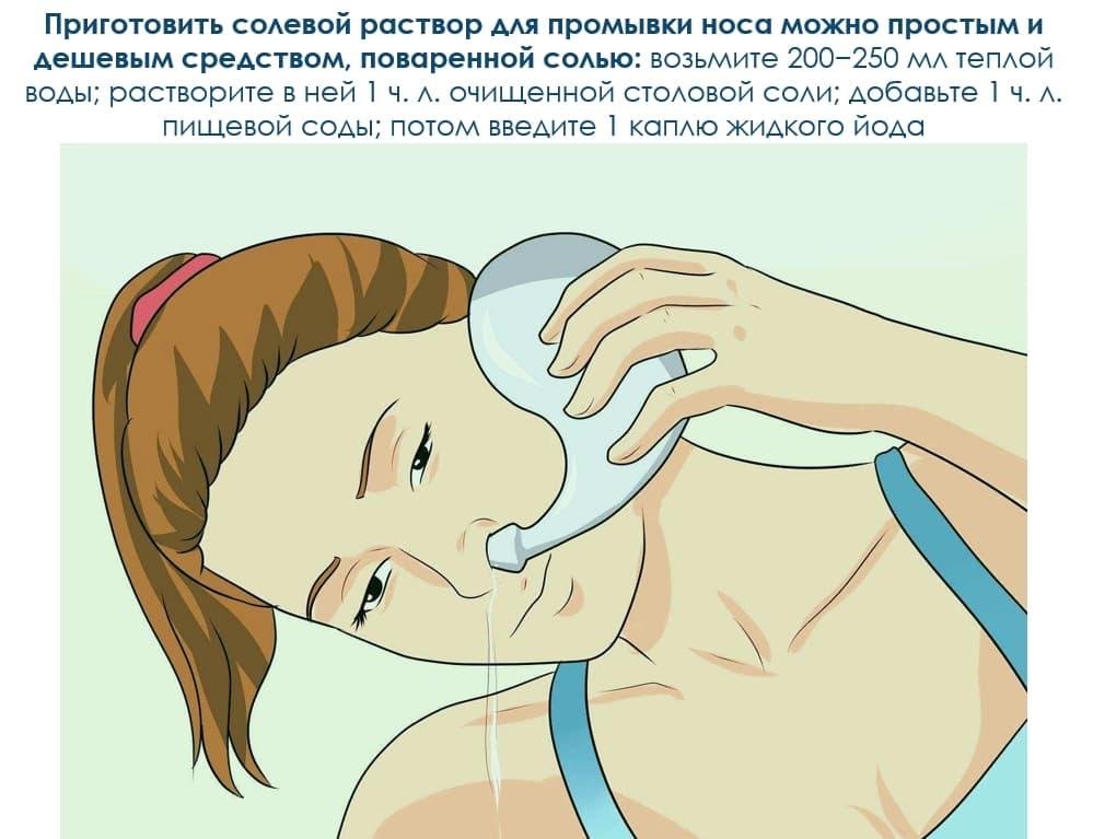 Солевой раствор для ран: пропорции, правила применения, лечение