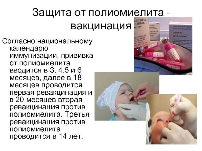 Непривитый ребенок и вакцинация от полиомиелита – может ли заразиться от привитого живой вакциной?