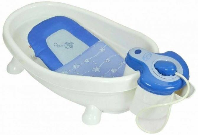 Какие бывают и зачем нужны детские ванночки для купания новорожденных