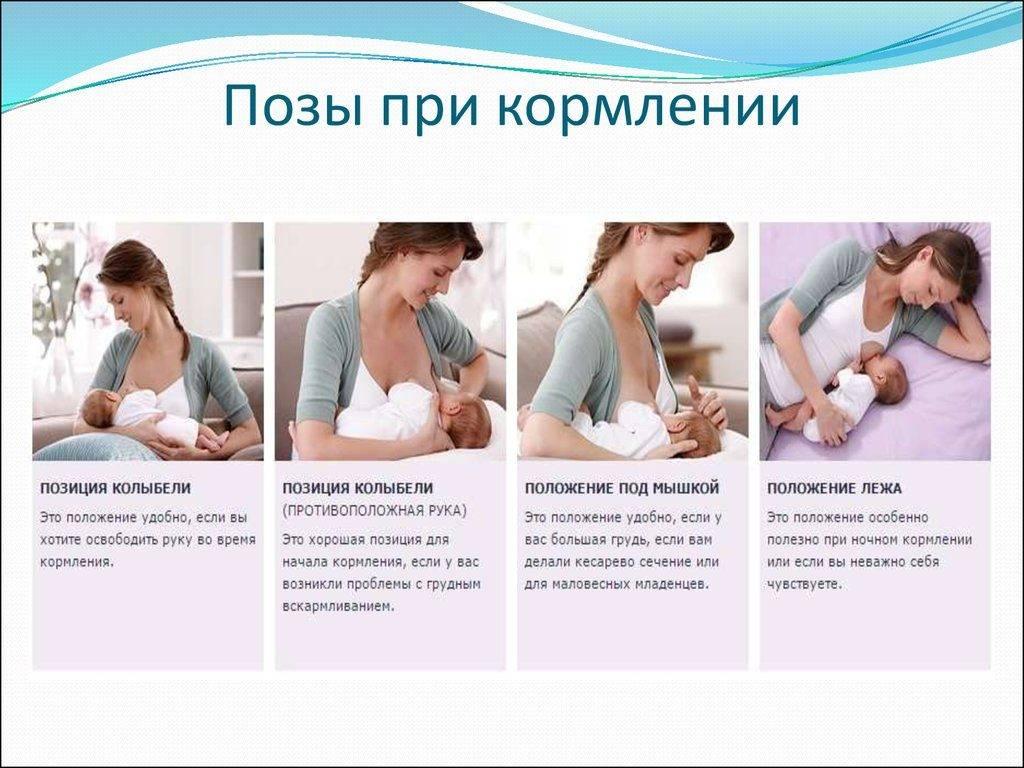 6 главных правил грудного вскармливания