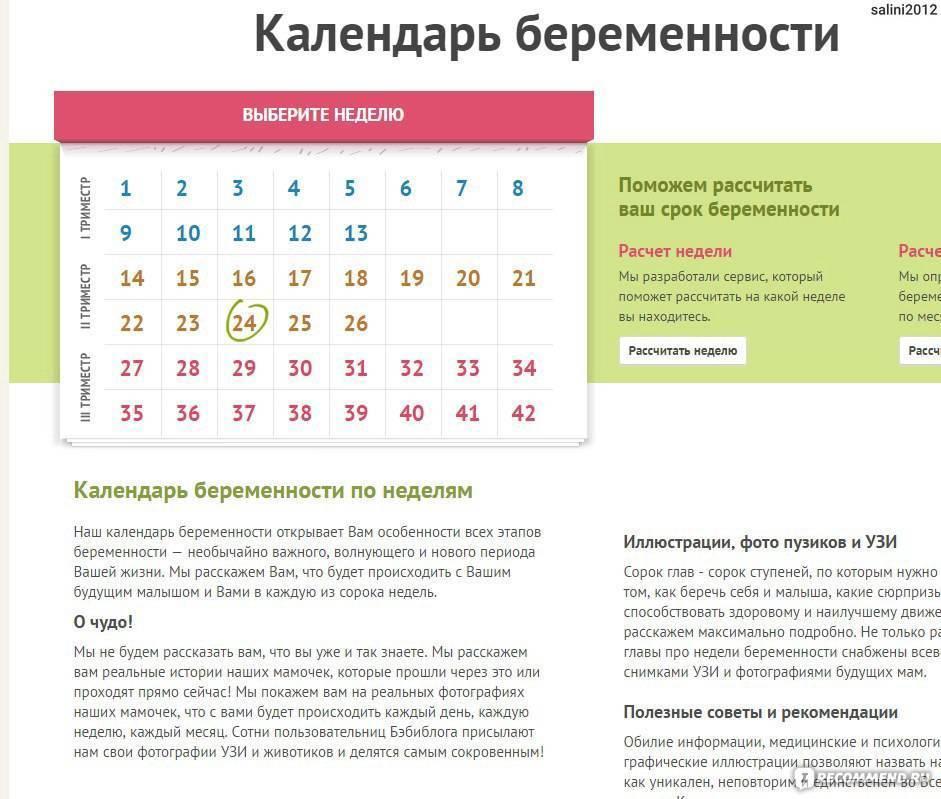 Расчет срока беременности по неделям - калькулятор, методы определения даты родов   азбука здоровья
