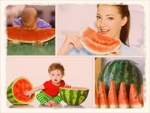 Польза и вред арбуза для кормящей мамы