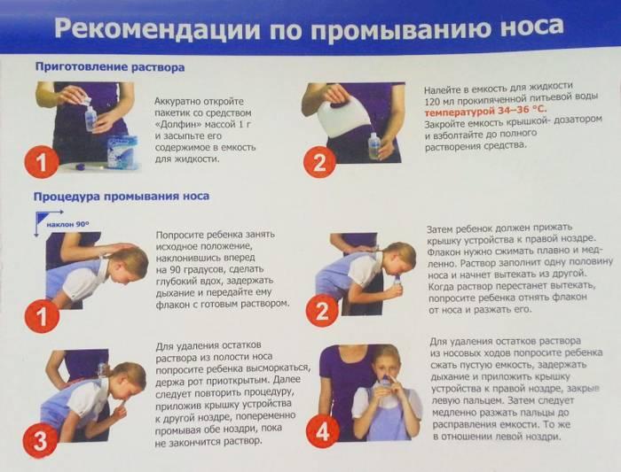 Как промыть нос. 9 растворов. правильное промывание носа ребенку и взрослому
