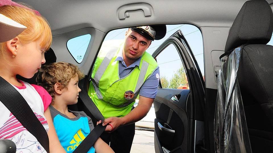Правила перевозки детей в машине: пункт 22.9 пдд