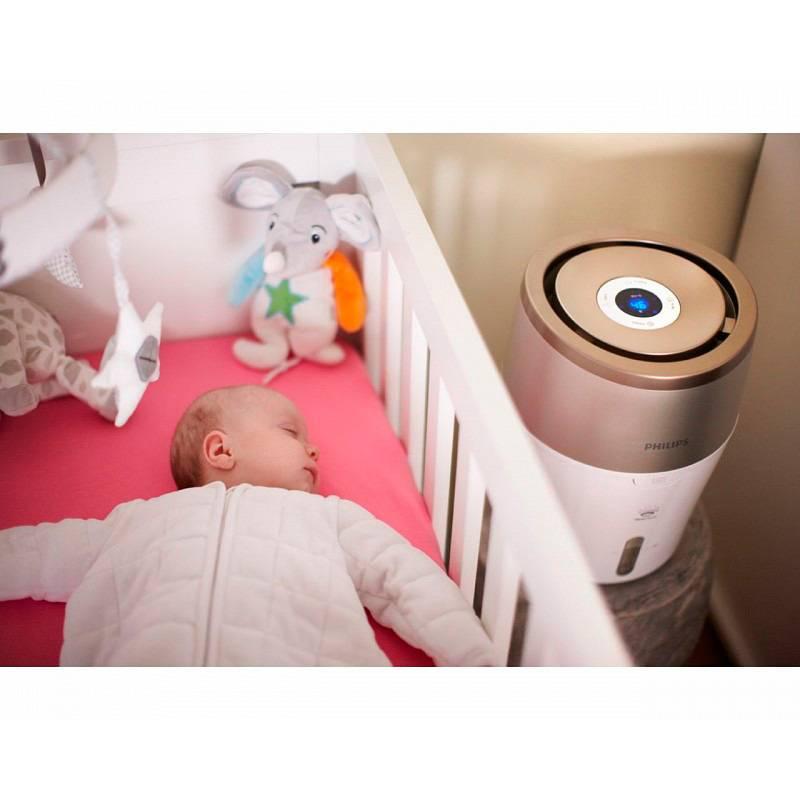 Как выбрать увлажнитель воздуха для ребенка